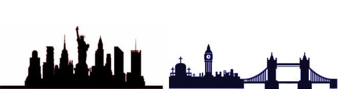 diferenca entre ingles britanico e americano gramatica e palavras new york london