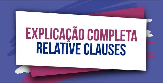 relative clauses explicacao completa capa